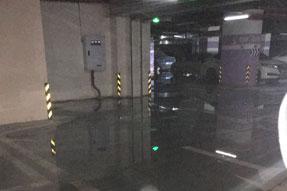 汇祥荟配电房渗水电缆试验