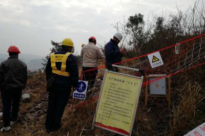 重庆市电力公司发建部前往现场检查指导工作