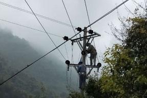 渝黔高速扩能项目10kV及以下电力线路设施迁改工程