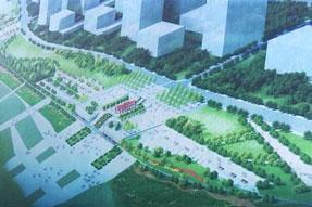 丰都龙河新城滨江区域施工箱变安装工程