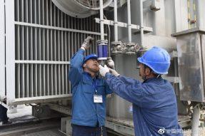 历城区供电公司成功消除一起变压器渗油缺陷