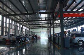 重庆嘉峰中轮汽车修理厂50kⅥA箱变安装工程