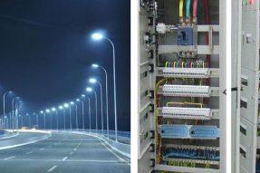 重庆市巴南区鹿角组团M5道路路灯正式用电工程