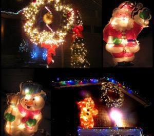"""""""火树银花""""隐患多 尽量不要在圣诞树上插接电源"""