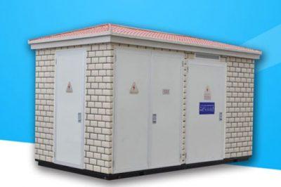 重庆圣马气体有限公司800KVA室外箱变配电yabo88app