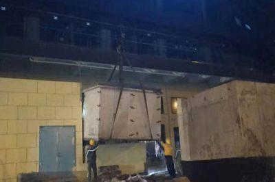 重庆长展机械有限公司250KVA箱变安裝yabo88app