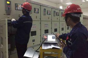 重庆北站铁旅变配电设备试验及整治