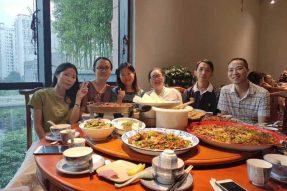 端午节前夕员工聚餐
